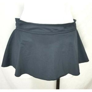 🌸Merona Black Swimsuit Mini Skirt Bikini Bottom